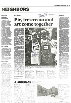 Salina Journal - Pie-luck winners
