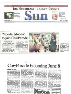 JC Sun - Cow Parade