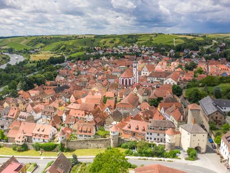 Zu Gast in der historischen Weinstadt Dettelbach
