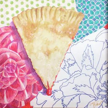 Raspberry Cream Cheese Slab Pie