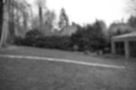 Hertfordshire garden site visit sloping