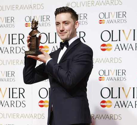 Drew wins Olivier Award for In The Heights