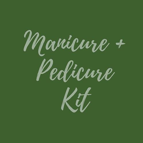 Manicure + Pedicure Kit