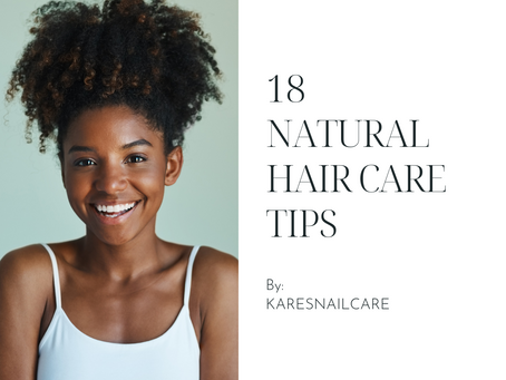 18 Natural Hair Care Tips (including Braids, Loc-extensions, and Locs)