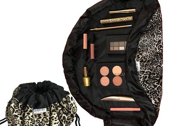 Lynx Print Makeup Bag