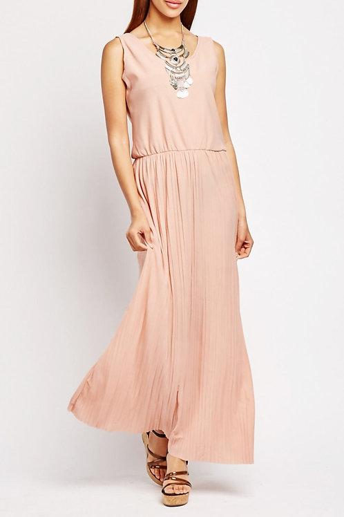 Blush Boho Maxi Dress