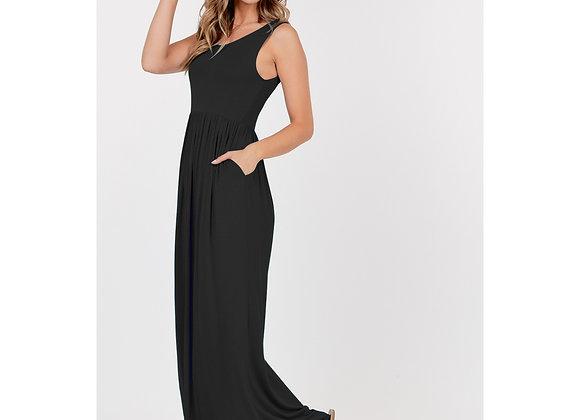 Black Plus Size Maxi Dress