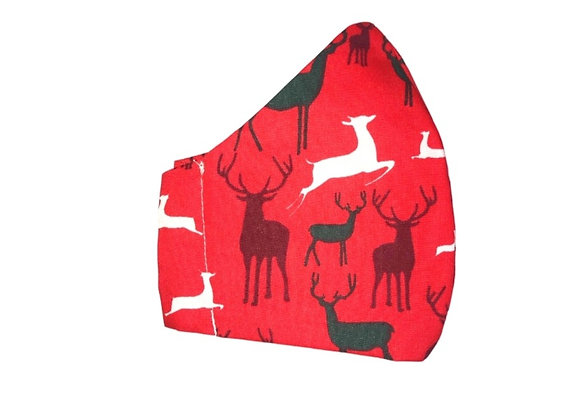 Red Stags Fashion Face Mask