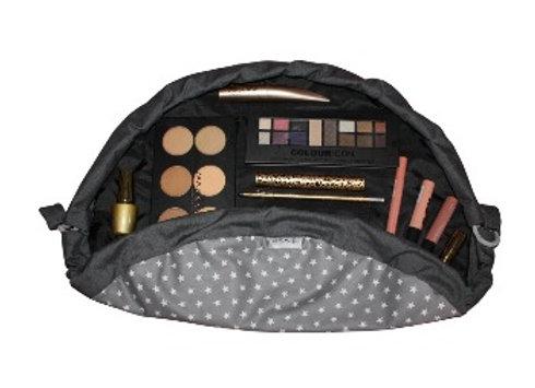 Grey Star Makeup Bag