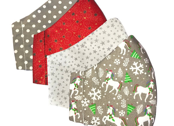 Christmas Face Covering Set 1