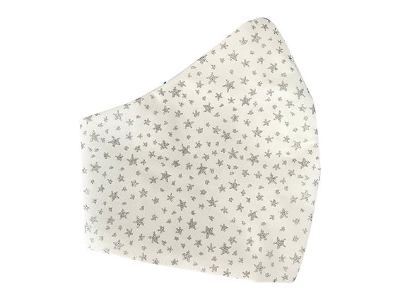 Silver Star Face Mask