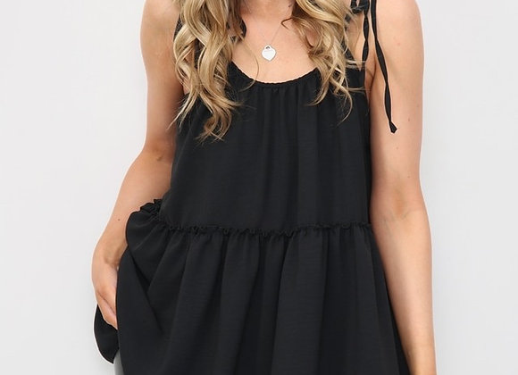 Tiered Cami Strappy Top