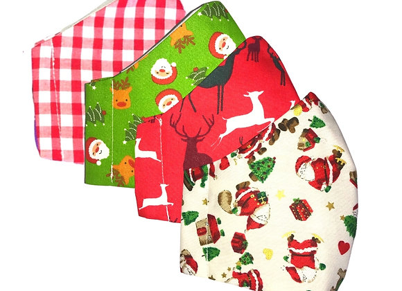 Christmas Face Covering Set 2
