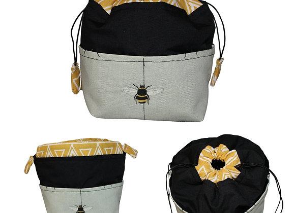 Bee Print Bitsy Bag