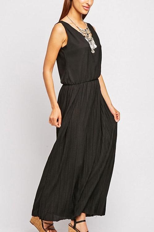 Navy Boho Maxi Dress