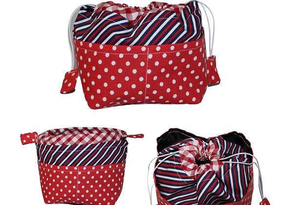 Spots & Stripes  Bitsy Bag