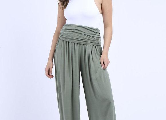 Plain Harem Trouser (Khaki)