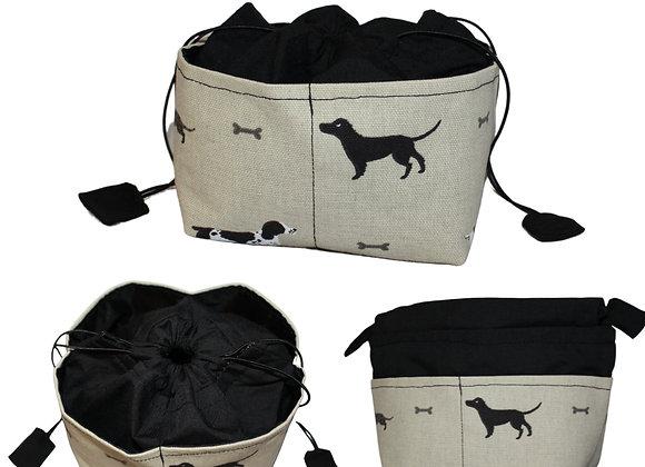 Dog Print Bitsy Bag