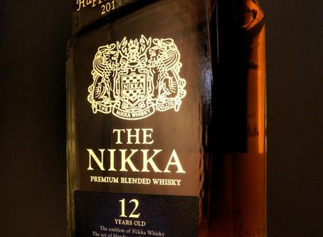 THE NIKKA12年への名入れ刻印