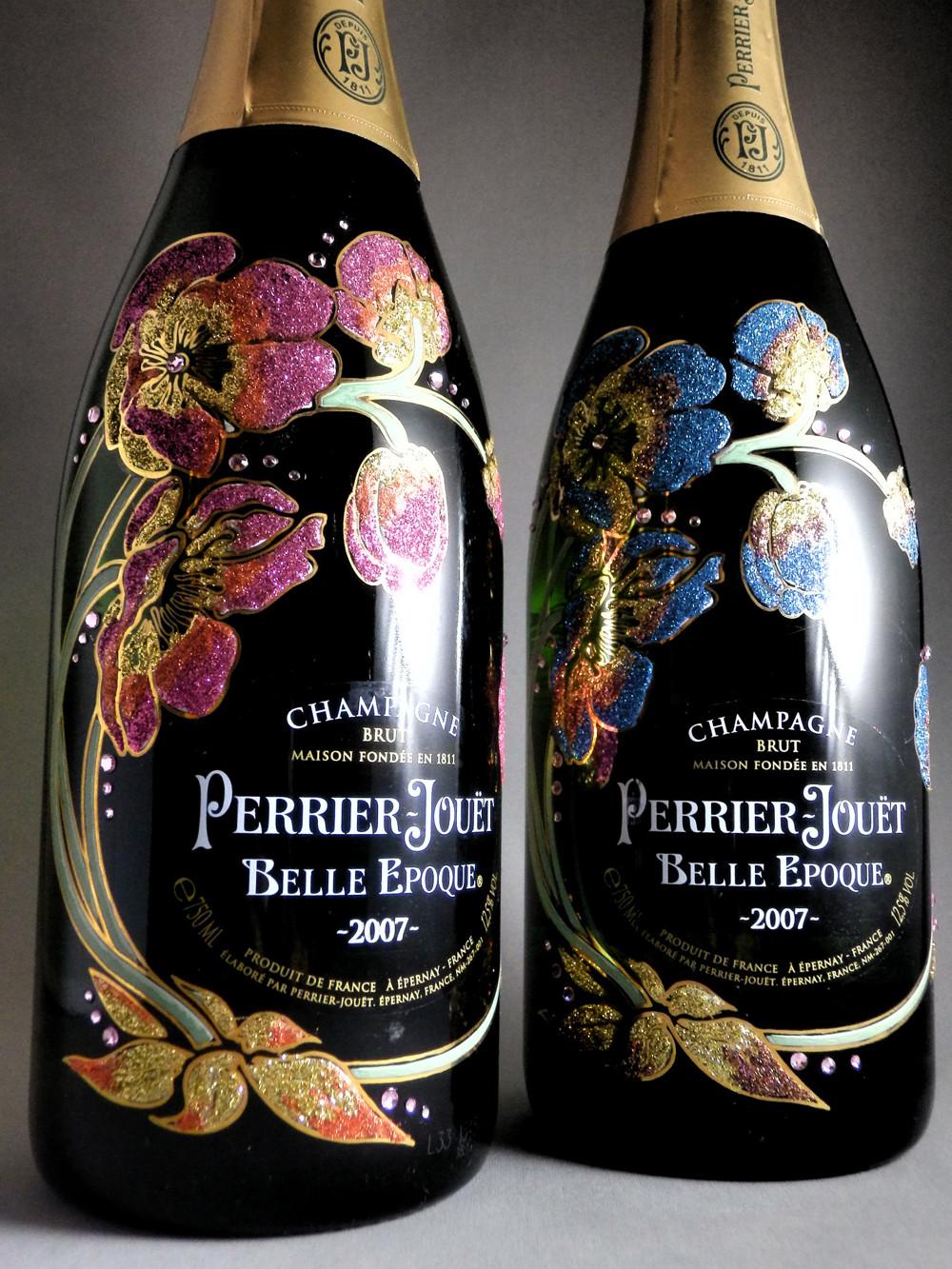 ペリエジュエのボトルデコレーション