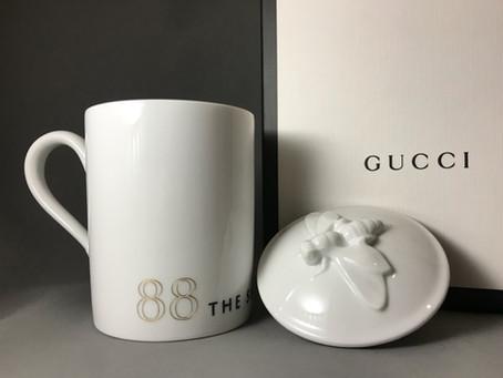 GUCCIマグカップ名入れ刻印