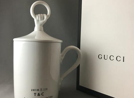 GUCCIの陶器製マグカップ