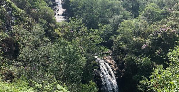 Inchree Waterfalls