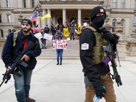 Extremist Groups Behind Anti-Lockdown Protests