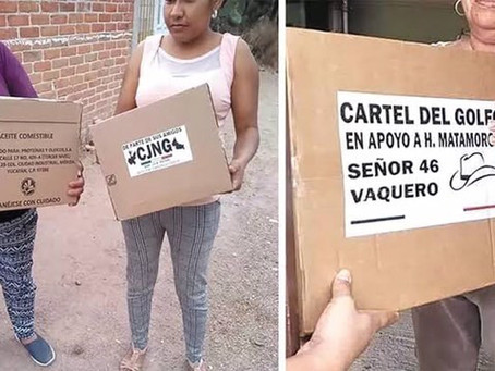 Modern Feudalism: Cartels are Giving Away Groceries During the Pandemic?