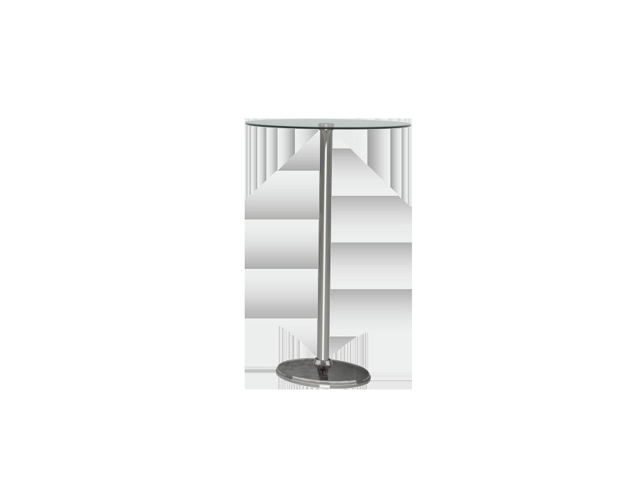 유리 바 테이블 (ø600)