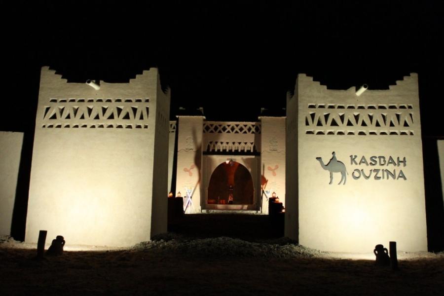 llegada kasbah ouzina
