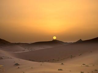 Atardecer Sáhara