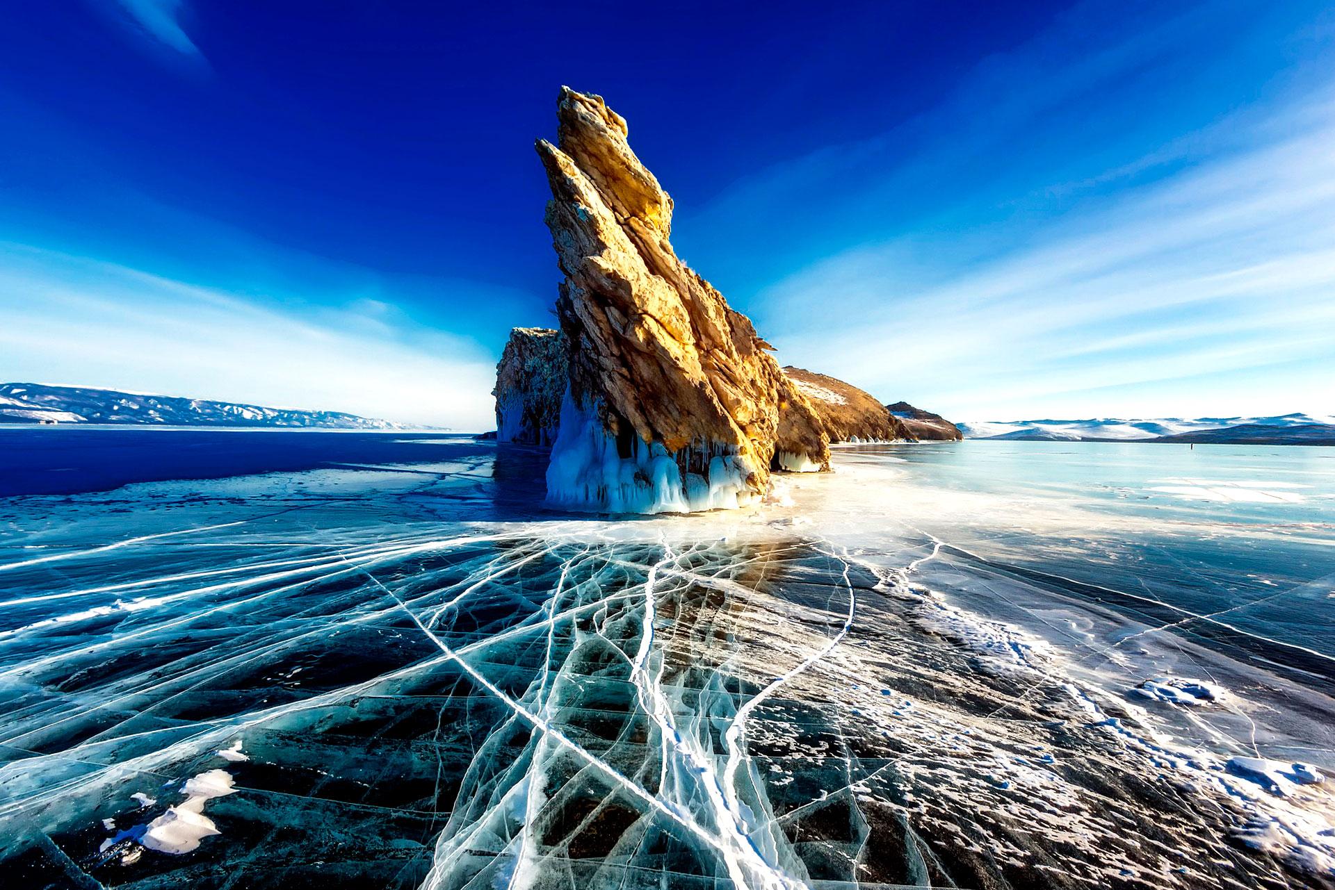 lago-baikal-roca