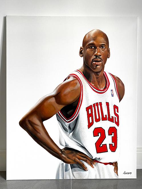 """Jordan on Canvas"" Original"
