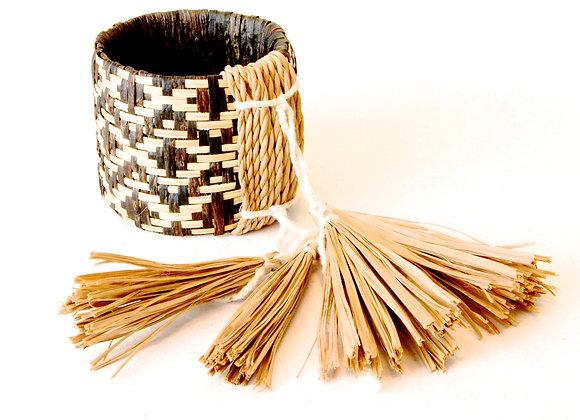 Bracelete de palha