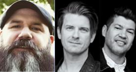 Musicians Mike Rathke & Josh Havens & Matt Fuqua of the Afters