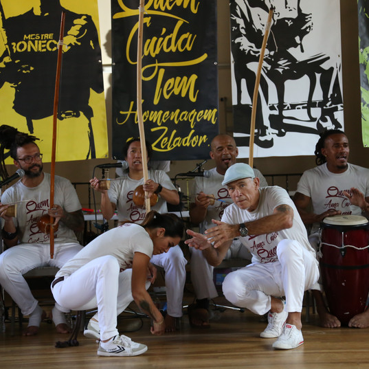 Capoeira with Itaborá