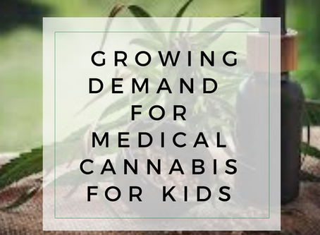 Doctors seeing a growing demand for medical cannabis for kids
