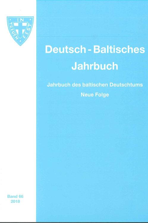Deutsch-Baltisches Jahrbuch 2018