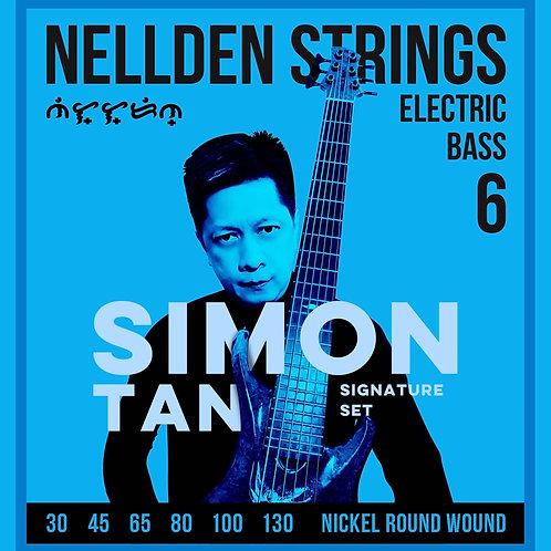 Nellden Strings Simon Tan Signature 6 String Bass Set