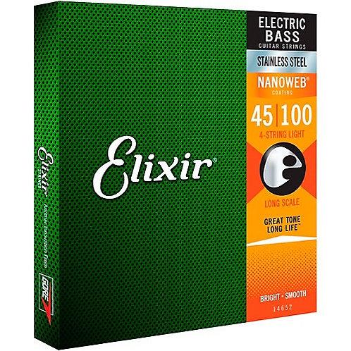 Elixir Bass Strings Stainless Steel 45-100