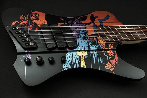 Dingwall D-Roc Hellboy Limited Edition 5-string Bass