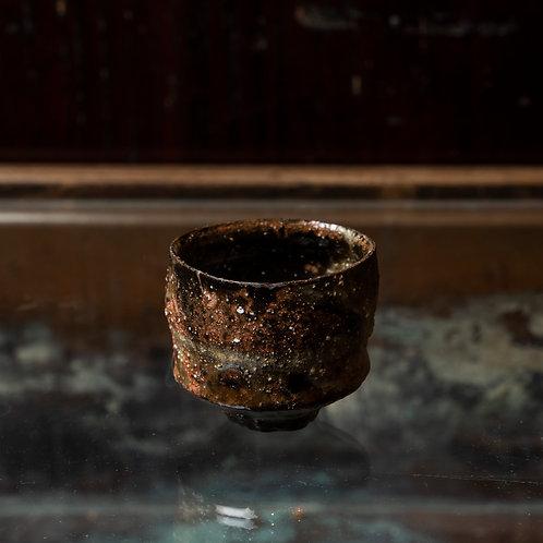 Dark Brown Sake Cup