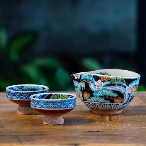'Three-Friends-of-Winter' Sakewares