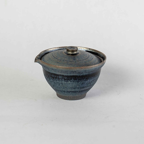 Tenmoku Lidded Tea Pourer