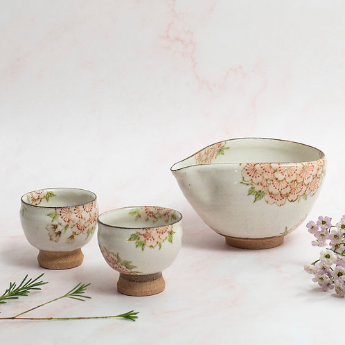 Pink Sakura Sakewares