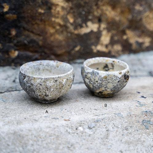 Ash-glazed Sake Cup