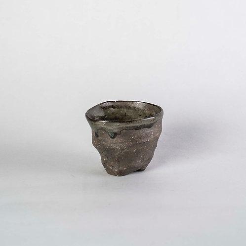 Black Sake Cup