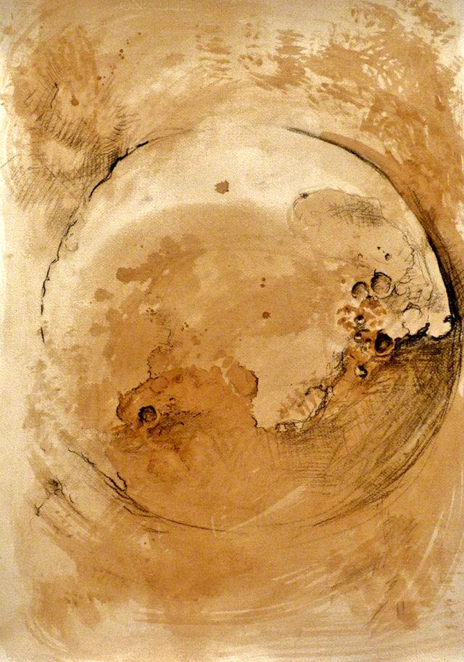 Moon I - Triptych