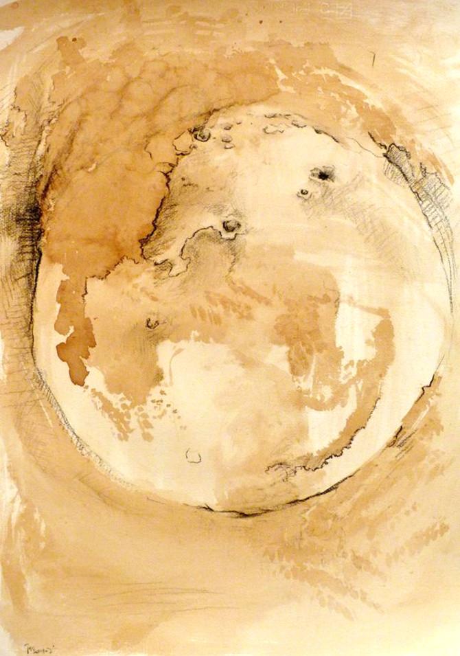 Moon III - Triptych